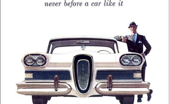 Ford và thất bại vì quảng cáo đánh vào sự tò mò