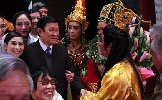 Chủ tịch nước đến xem Vua Thánh triều Lê
