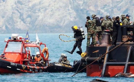 Chìm phà Sewol: 3 người bị bắt vì tình nghi phá hủy chứng cứ