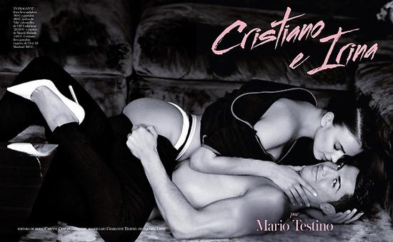 Cristiano Ronaldo nóng bỏng bên người tình Irina Shayk