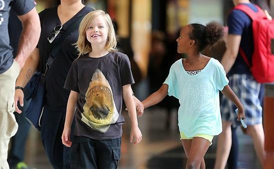 Jolie-Pitt xây dựng công viên riêng cho con gái