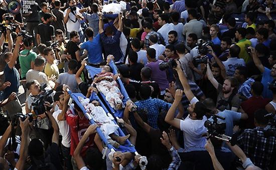 Máu và nước mắt ở Shajaiyah, Gaza
