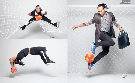 Phạm Anh Khoa từng muốn làm cầu thủ bóng đá chuyên nghiệp