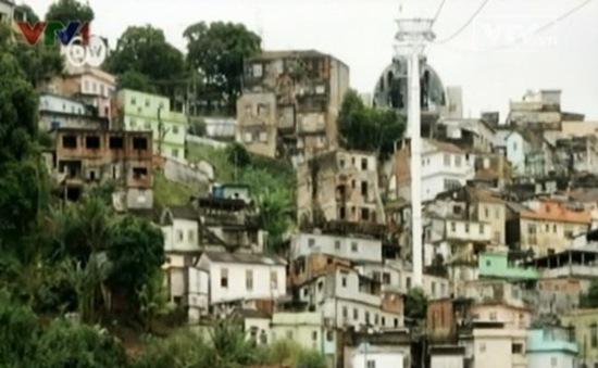 Brazil: Khó khăn trong quy hoạch khu ổ chuột