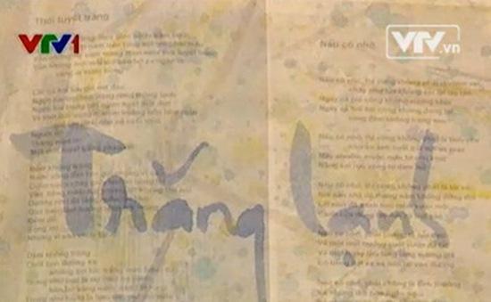 """Triển lãm tranh thơ """"Giấc mơ thi nhân"""" trở lại sau 4 năm"""