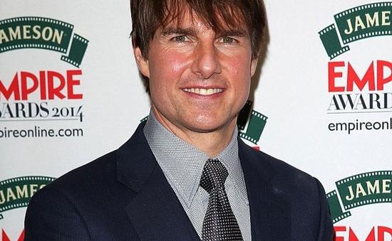 """Tom Cruise được tôn vinh là """"huyền thoại"""" ở lễ trao giải Jameson Empire 2014"""