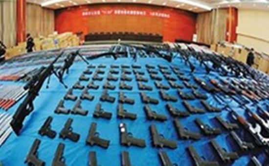 Trung Quốc phá án sản xuất vũ khí trái phép