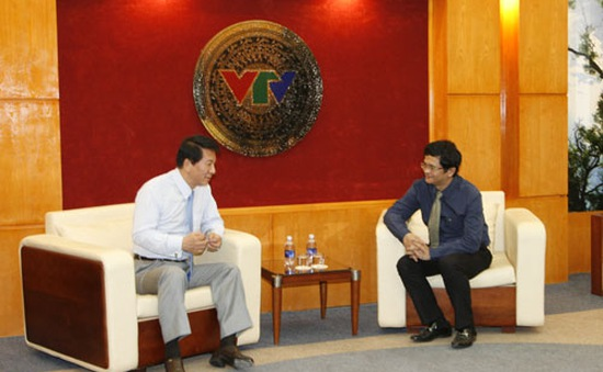 Tổng Giám đốc tiếp xã giao Đại sứ thiện chí Nhật – Việt