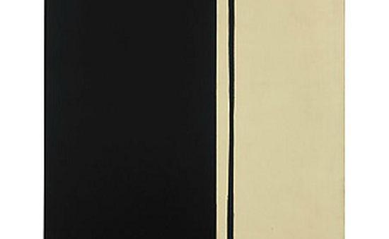 """Bức tranh """"Black Fire I"""" lập kỷ lục 84,2 triệu USD"""