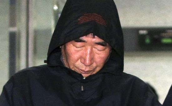 4 thành viên phà Sewol bị truy tố về tội ngộ sát