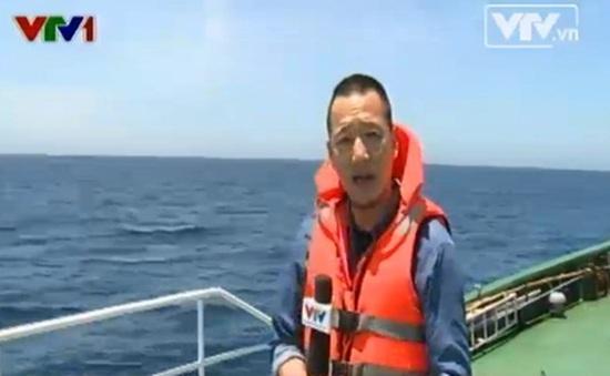 PV Xuân Tùng phải liên tục đổi tàu khi tác nghiệp ở Hoàng Sa