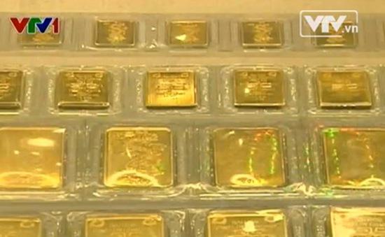 Sáng 29/5, giá vàng trong nước giảm 70.000 đồng/ lượng