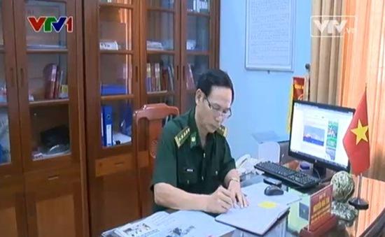 Đại tá Nguyễn Hòa Văn - nhà báo mang quân hàm xanh với tình yêu biển đảo