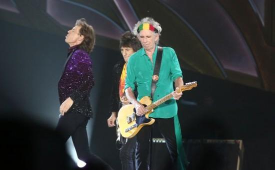 """Rolling Stones """"cháy"""" hết mình trước 40.000 khán giả tại Israel"""