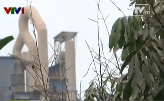 Lạng Sơn: Hàng trăm hộ dân khốn khổ vì khói xi măng