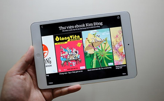 NXB Kim Đồng ra mắt thư viện sách điện tử