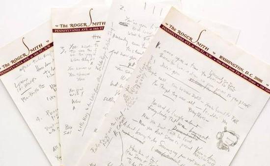 Bản viết tay lời bài hát của Bob Dylan đạt giá kỷ lục