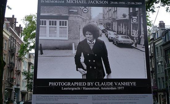 Amsterdam kỷ niệm 5 năm ngày mất của Michael Jackson