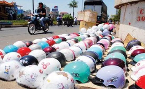 2 ngày cao điểm kiểm soát chất lượng mũ bảo hiểm: Chỉ nhắc nhở!