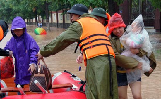 Lạng Sơn: Khắc phục thiệt hại tại vùng rốn lũ