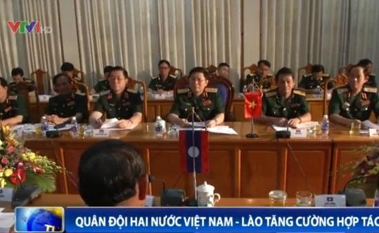 Quân đội hai nước Việt Nam – Lào tăng cường hợp tác
