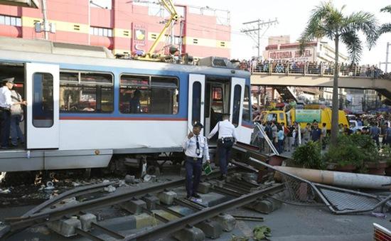 Trật bánh tàu điện ngầm Philippines, 38 người bị thương