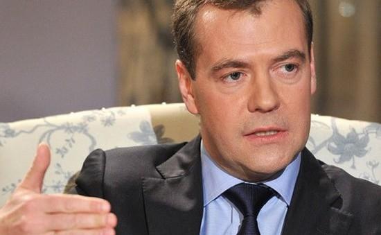 Tài khoản Twitter của Thủ tướng Nga Medvedev bị tin tặc tấn công