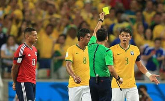 """World Cup 2014: FIFA quyết không """"tẩy thẻ"""" cho Thiago Silva"""