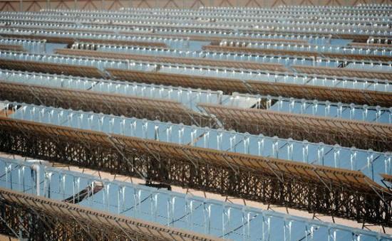 UAE vận hành nhà máy điện mặt trời lớn nhất Trung Đông