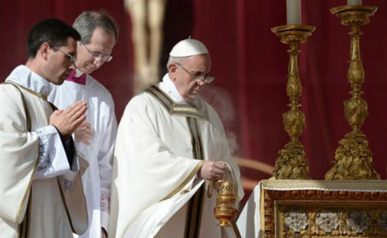 Giáo hoàng Francis nhậm chức