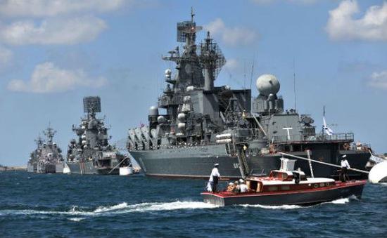 Tổng thống Putin chỉ thị tập trận quy mô lớn ở Biển Đen