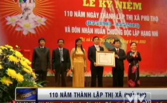 Thị xã Phú Thọ kỷ niệm 110 năm thành lập