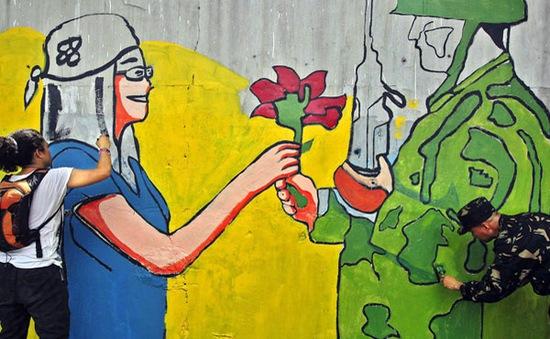 Bức tường nghệ thuật dài 4 km tại Philippines