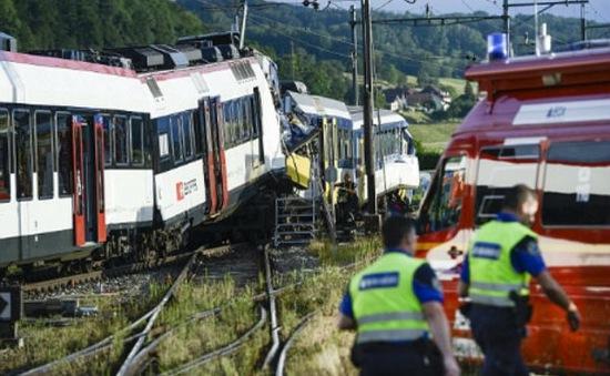 Tai nạn tàu hỏa tại Thụy Sỹ, 40 người bị thương