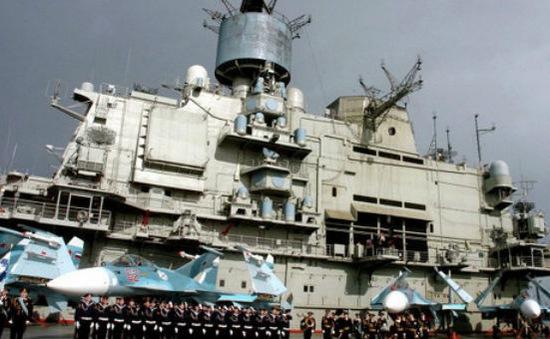 Nga điều tàu chiến tới Địa Trung Hải