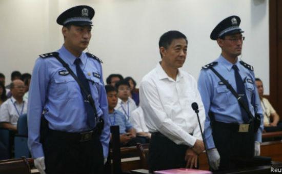 Trung Quốc bác đơn kháng cáo của Bạc Hy Lai