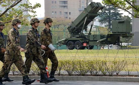 Nhật Bản tập trận tên lửa đất đối hạm