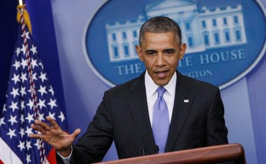 Cử tri Mỹ dần mất lòng tin với ông Obama