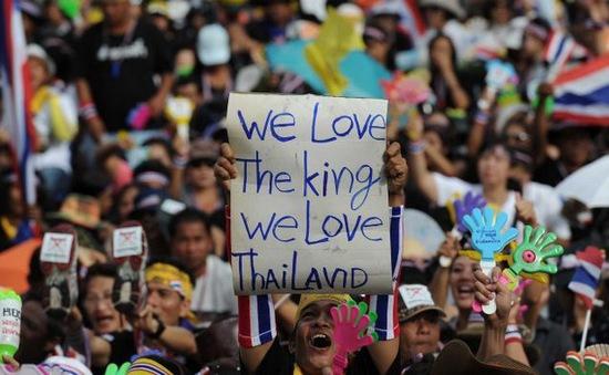 Nhà vua Thái Lan kêu gọi cả nước đồng lòng