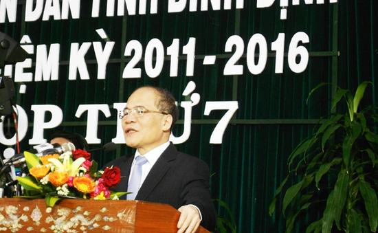 Chủ tịch Quốc hội thăm và làm việc tại Bình Định