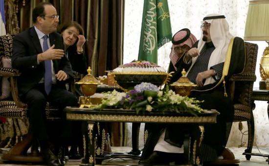 Tổng thống Pháp công du Saudi Arabia