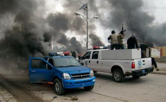 Phiến quân chiếm nhiều khu vực ở Iraq