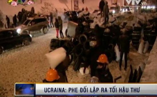 Ukraine: Phe đối lập ra tối hậu thư