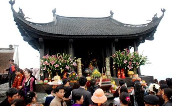 Khai mạc lễ hội xuân Yên Tử