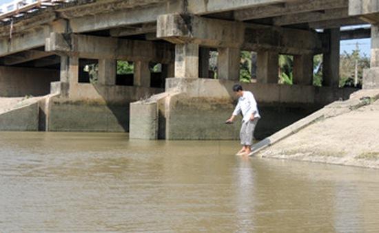 Xâm nhập mặn tại các tỉnh ven biển ĐBSCL