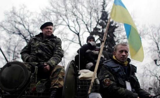 Lực lượng vũ trang Ukraine tiến vào Crimea