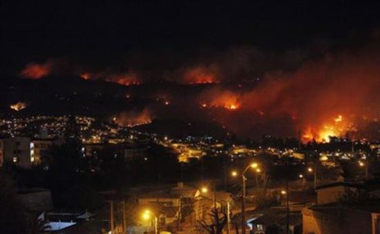 Chile: Hỏa hoạn làm 8 người thiệt mạng