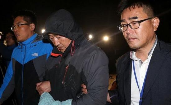 Toàn bộ thành viên tổ lái phà Sewol bị bắt giữ
