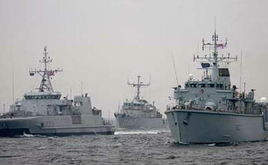 NATO diễn tập phản ứng của hải quân