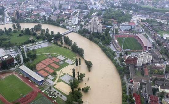 Hàng chục người thiệt mạng trong trận lụt lịch sử tại Bosnia Herzegovina và Serbia